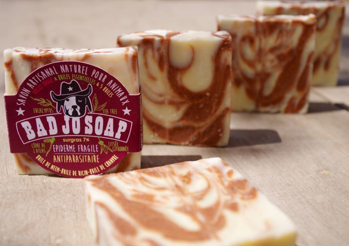 Picture of BADJO soap for dogs